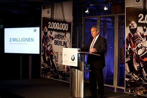 Bmw Motorrad Berlin Stellen by Bmw Werk Berlin Produziert Zweimillionstes Motorrad