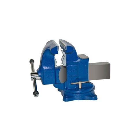 bench vise home depot yost 8 in medium duty tradesman combination pipe and