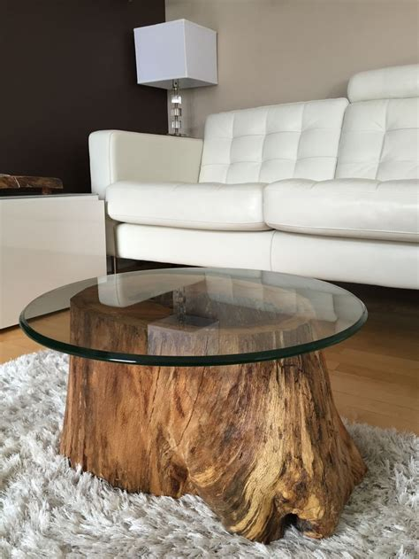 Wooden Table Ls For Living Room Best 25 Tree Stump Table Ideas On Pinterest Stump Table Tree Stump Coffee Table And Tree