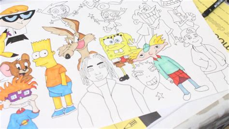 S Drawing 90s by Speed Drawing 90s Charcaters Josh