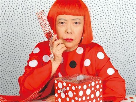 Plakat Yayoi Kusama by Kleuterschool Japanse Kunst Met Bollen In De Toiletten