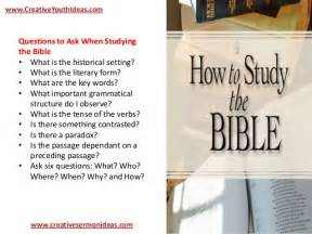 Methodical Bible Study youth ideas teaching youth how to study the bible basic