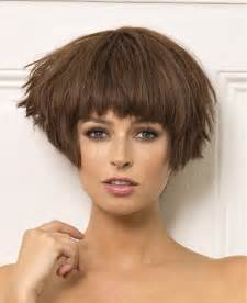 saint algue short hair jpg a short brown hairstyle from the chic collection by saint