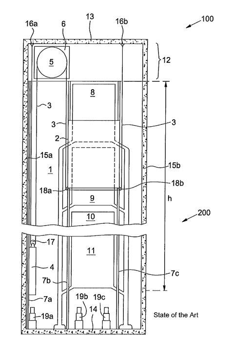 elevator shaft section patent us20120266968 elevator system having a shaft side
