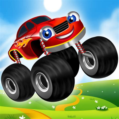 monster truck racing games for kids monster trucks kids racing game on the app store