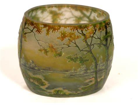 Next Chagne Flutes In Vase by Molten Glass Vase Daum Nancy Nouveau Nineteenth