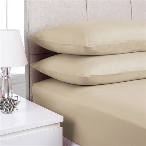 single bed sheets plain fitted bed sheets single double king super king dyed