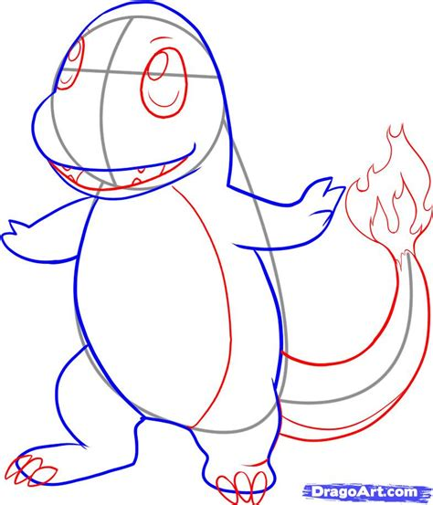 how to draw step by step how to draw charmander step by step characters