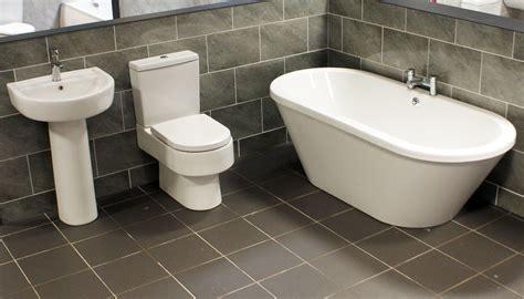 meridian laurie freestanding bath bathroom suite modern