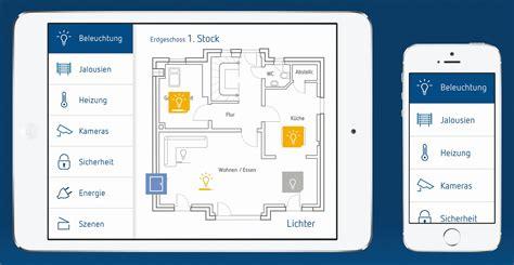 das smart home per app im griff theserva knx