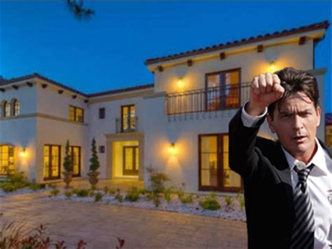 charlie sheen house house of the day charlie sheen just bought this 7 5 million estate for his ex wife