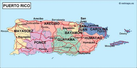 zip code map puerto rico puerto rico political map eps illustrator map our