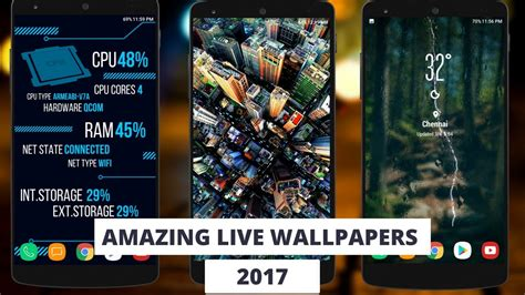best android live wallpaper best live wallpapers for android 2017