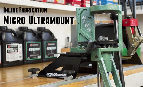 ultimate reloading bench inline fabrication micro ultramount assembly and bench