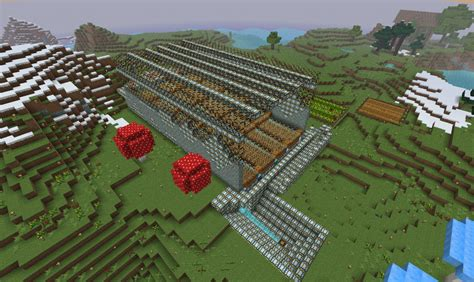 automatic bid automatic big wheat farm minecraft project