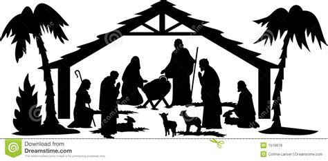 printable nativity scene silhouette nativity scene silhouette clip art many interesting cliparts