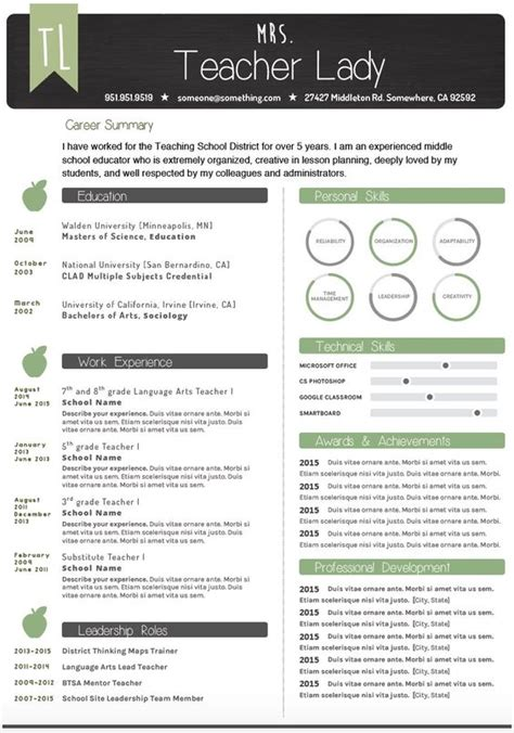 free resume templates that stand out chalkboard theme resume template make your resume pop