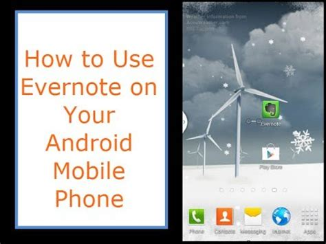 evernote tutorial youtube android using evernote on your android phone youtube