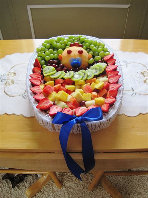 Fruit Baby Shower Ideas by Fruit Tray I Made For Bailey S Baby Shower Baby Shower