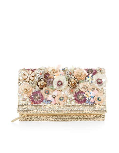 Floral Clutch summer floral 3d clutch bag multi accessorize