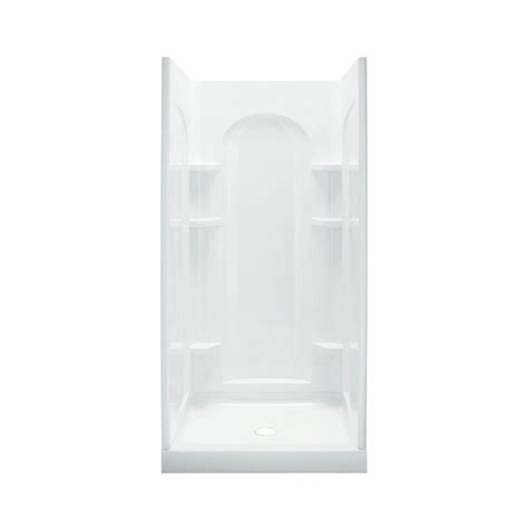 Sterling Shower Kits by Sterling Ensemble 34 In X 42 In X 77 In Curve Shower