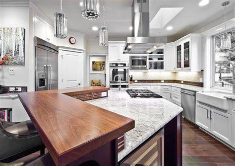 custom kitchen island houzz kirkland custom kitchen with island range hood
