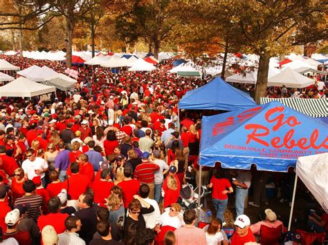 10 unique college football tailgating traditions travel