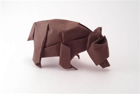 Origami Bears - origami animal sculpture by szinger book review