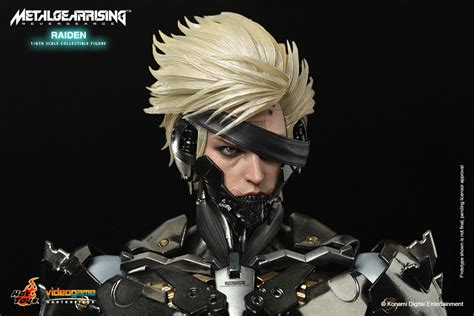 Toys Ht Metal Gear Rising Raiden Special Edition toys sixth scale raiden metal gear plastic and plush