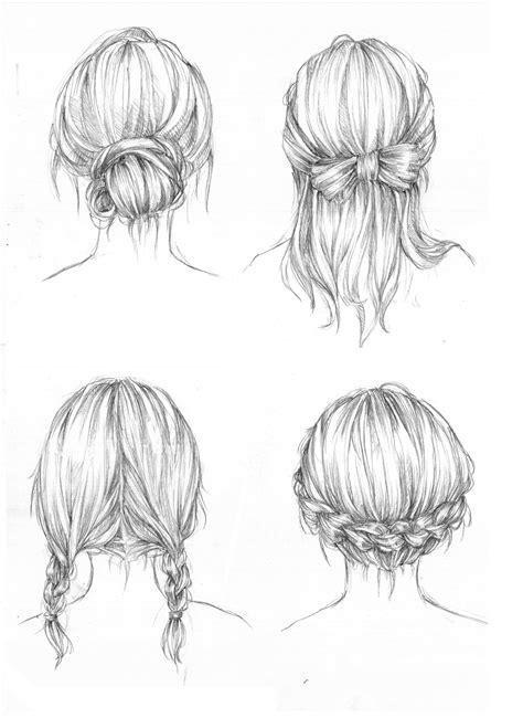 Cool Hairstyles Drawing | hairstyles by capilair on deviantart