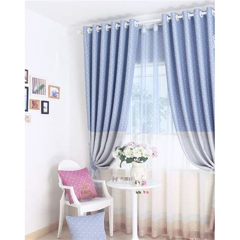 Blue Nursery Curtains Thenurseries Blue Nursery Curtains