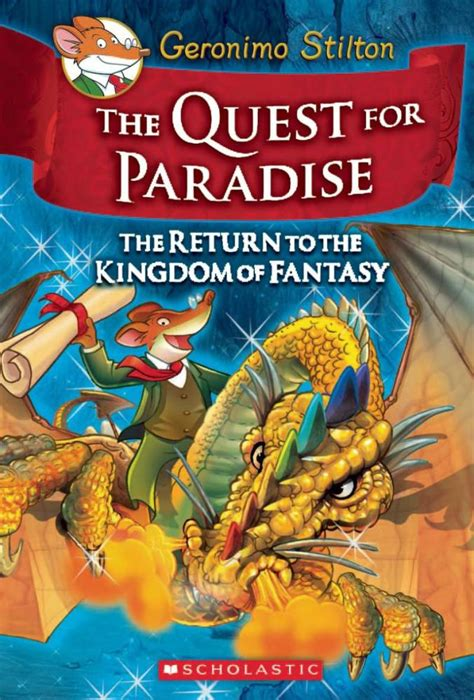 the quest for paradise geronimo stilton kingdom of