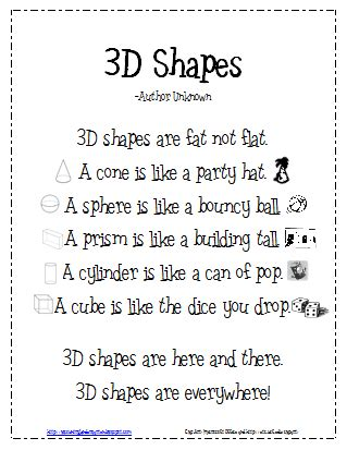 poems with a pattern year 2 10 activities for describing 3d shapes in kindergarten