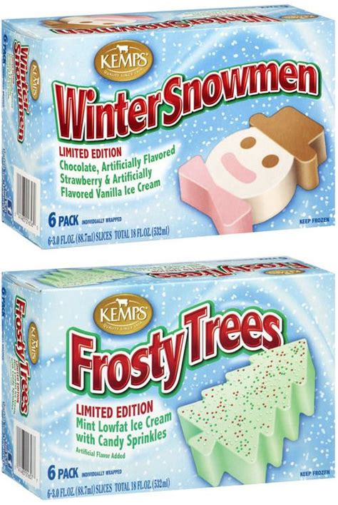 kemps winter treats seasonal favorites winter