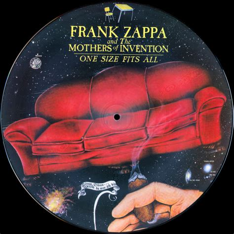 frank zappa sofa no 2 frank zappa official release 20 one size fits all wolf