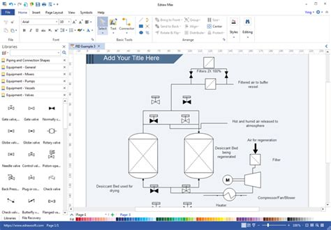 Drawing P Id In Visio by What Cad Should I Use To Make P Id Diagrams With Catalog
