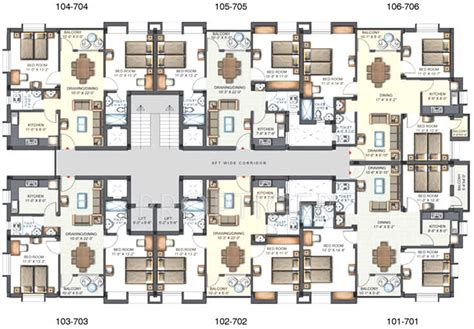 royal castle floor plan 1171 sq ft 2 bhk 2t apartment for sale in trellis