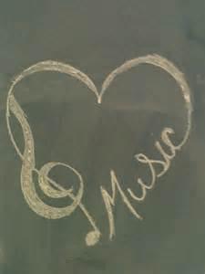 Heart Peace Music Tattoo