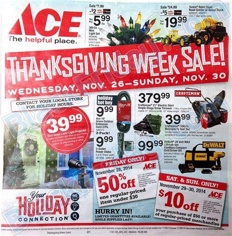 ace hardware catalog 2014 ace hardware black friday ad leaked
