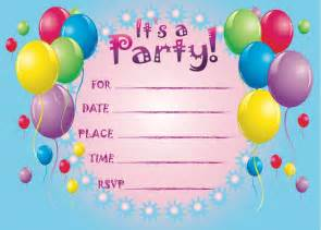 2 extraordinary free birthday invitations templates kids