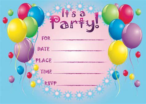 printable birthday invitation templates  invitation templates drevio