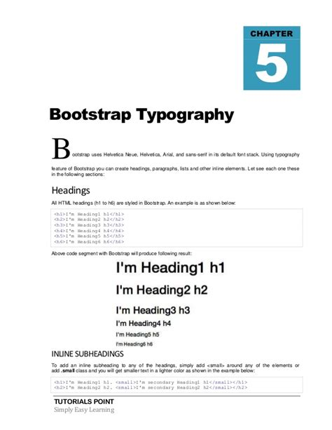 bootstrap tutorial margin bootstrap tutorial