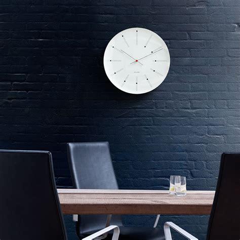 Bankers Wall Clock Arne Jacobsen Arne Jacobsen