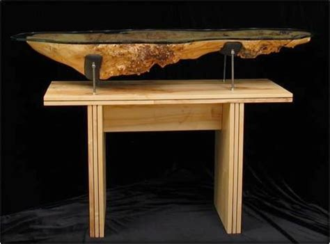 Custom Handmade Furniture - unique design maple table inaka custom handmade