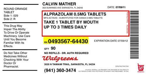 prescription bottle label template prescription label template template design