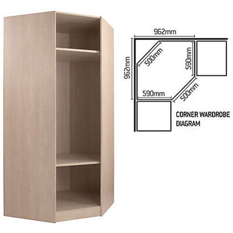 Built In Wardrobe Carcass by Schreiber Corner Wardrobe Carcass