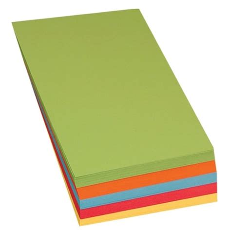 Bulk Craft Paper - a4 brite coloured card bulk saver from early years