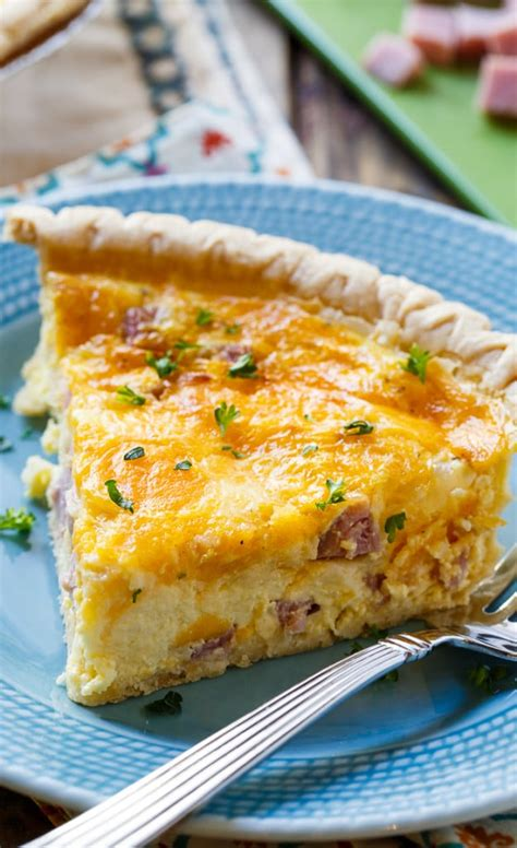 best ham best ham and cheese quiche recipe