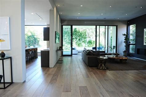 Modern European Living Room Design Grey 9 1 2 Quot European Oak Modern Living Room