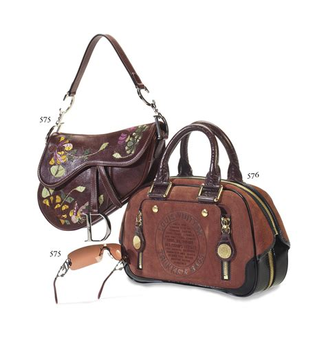 Winter 2006 To 2007 Designer Bag Collection by A Maroon Suede Calf Leather Lv Sted Bag Labeled